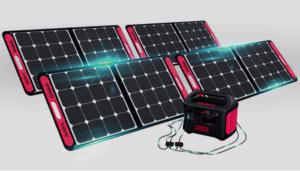 Can a solar generator run a refrigerator