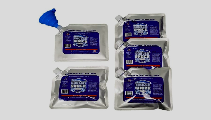 what type of freezer to use for large ice packs